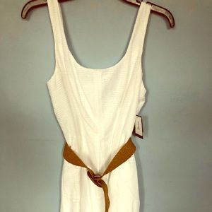 Nine West White Dress Size 10